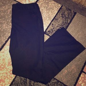 Express Columnist Low Rise Straight Flare Pants